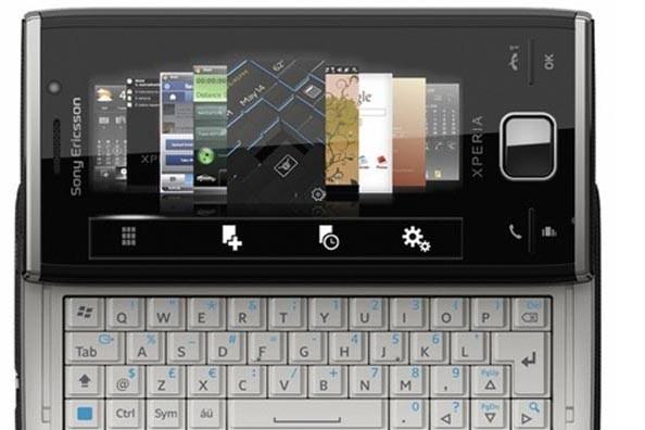 Le Xperia de Sony Ericsson.... (Photo fournie par Sony Ericsson)