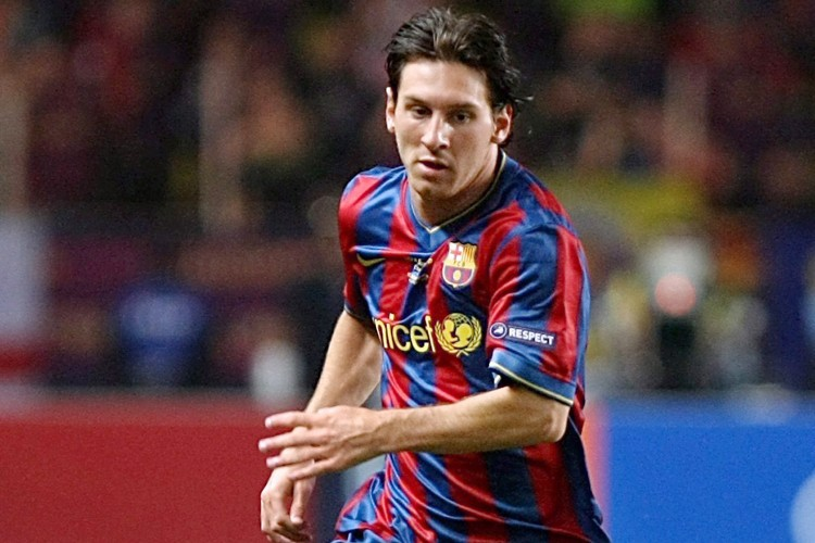 L'attaquant vedette du FC Barcelone, Lionel Messi... (Photo: AP)