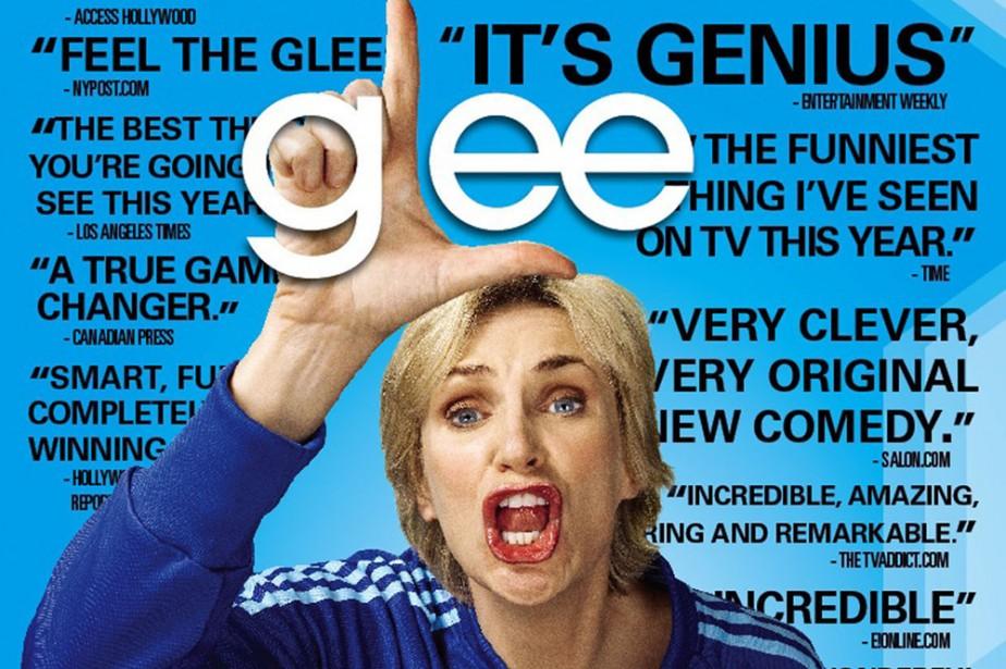 L'affiche de la nouvelle série Glee.... (Photo: CNW)