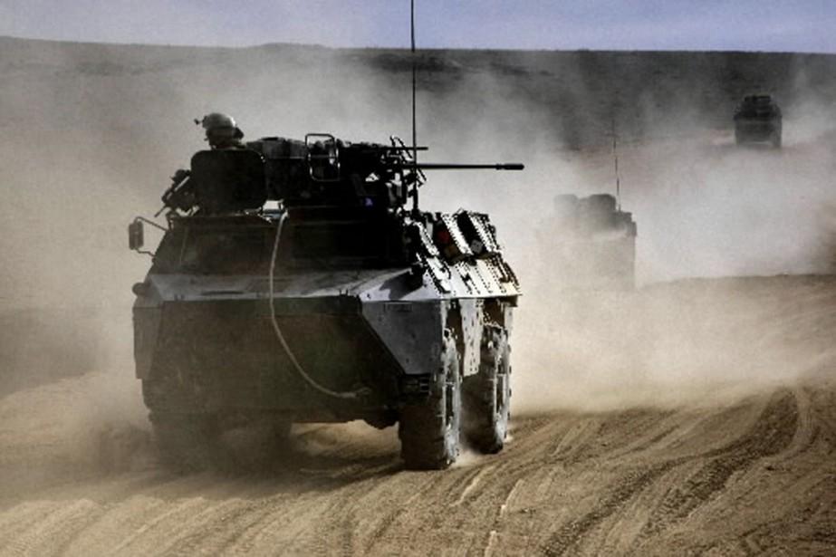 Les forces étrangères en Afghanistan tuent régulièrement des... (Photo AFP)