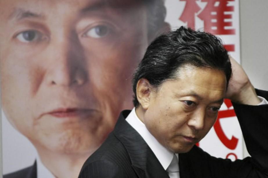 Le futur premier ministre Yukio Hatoyama veut effacer... (Photo AP)