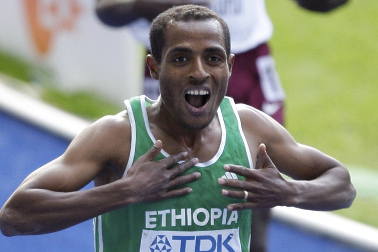 Kenenisa Bekele... (Photo: Reuters)