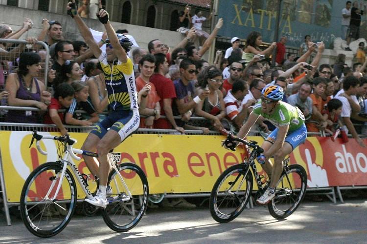 Le Slovène Borut Bozic (à gauche) a remporté... (Photo: Reuters)