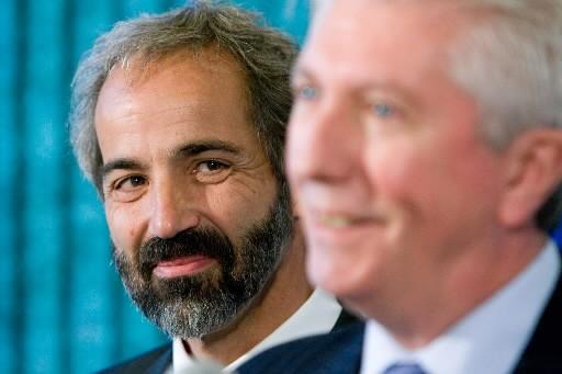 Gilles Duceppe a donné une conférence de presse... (Photo André Tremblay, La Presse)