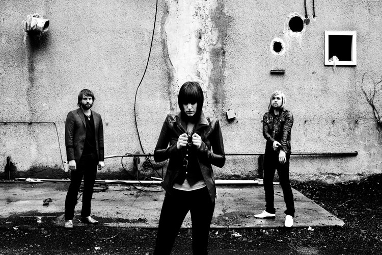 Les membres du groupe Band of Skulls, de... (Photo: John Londono)