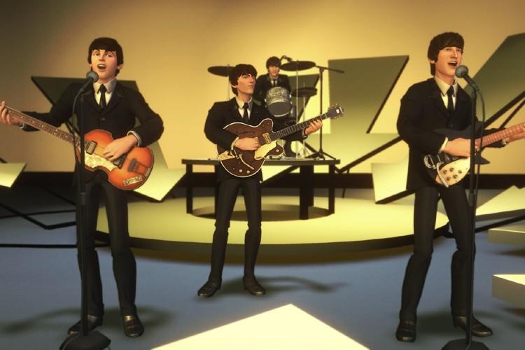 Une «scène» tirée du jeu Rock Band.... (Photo: AP)