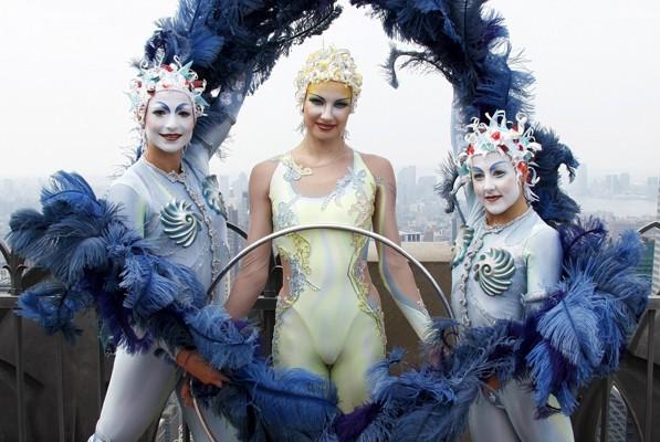 Le spectacle Alegria revient à Montréal, passant de... (Photo Jamie Fine, archives Reuters)