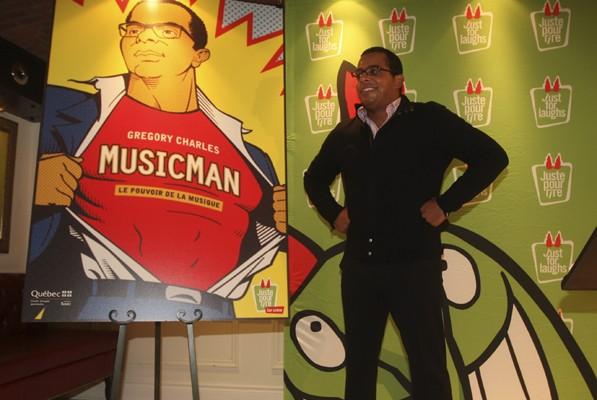 Avec MusicMan, Gregory Charles  souhaite conquérir le... (Photo: Martin Chamberland, La Presse)
