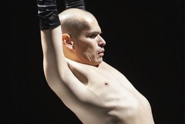 José Navas, qu'on voit ici dans son spectacle... (Photo Valerie Simmons, fournie par la production)