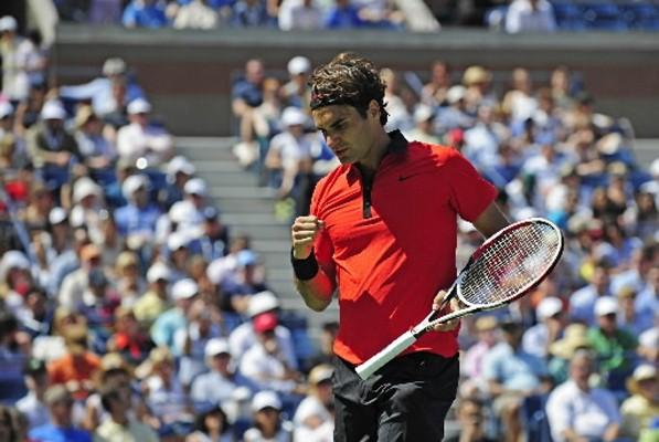 Le Suisse Roger Federer, quintuple tenant du titre à New York, a... (Photo: AFP)