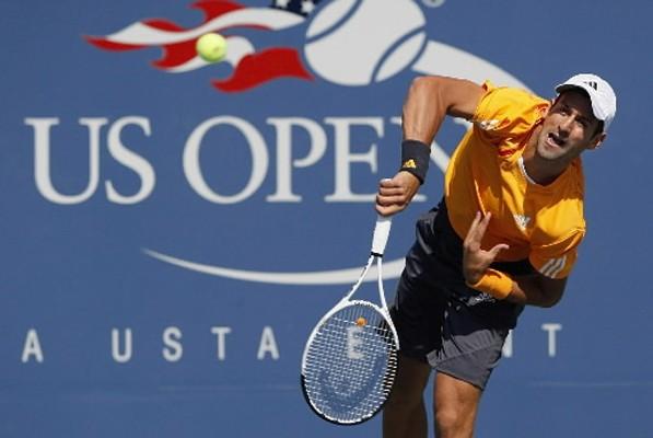Le Serbe Novak Djokovic, tête de série N.4, s'est qualifié pour... (Photo: AP)