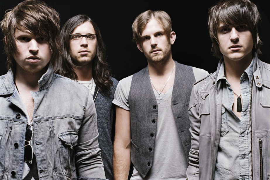 Le groupe Kings of Leon... (Photo: Archives Bloomberg News)
