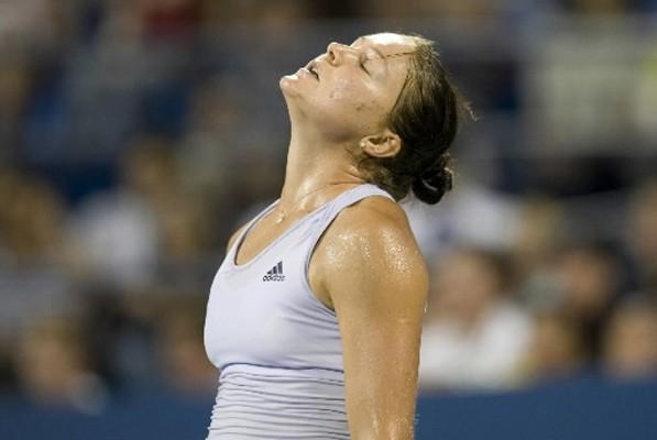 La Russe Dinara Safina a été éliminée samedi à New York au 3e... (Photo: AFP)