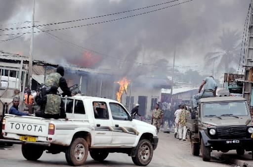 Trois personnes sont mortes dans les violences post-électorales... (Photo: AFP)