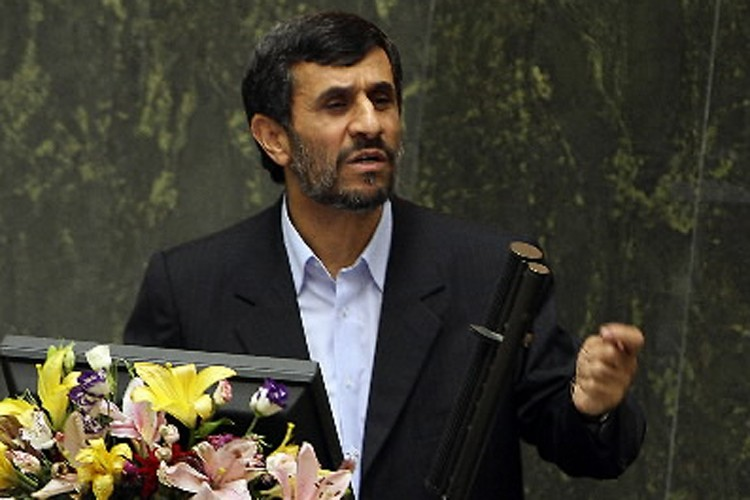 Le président iranien, Mahmoud Ahmadinejad.... (Photo: AFP)