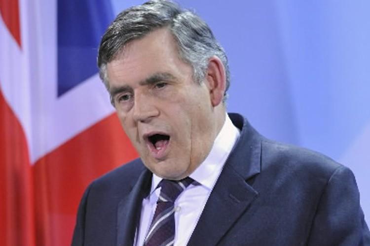 Gordon Brown... (Photo: AP)
