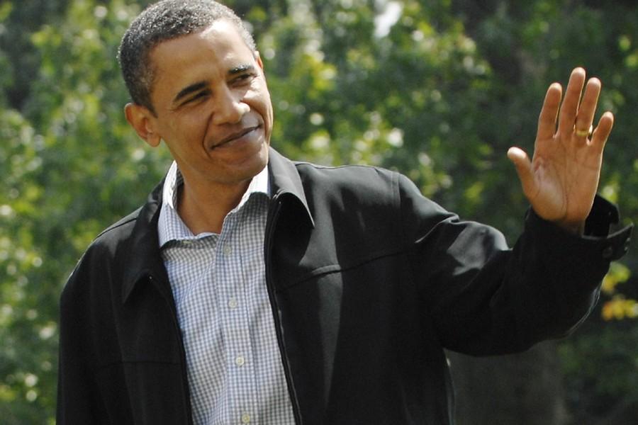 Barack Obama de retour à la Maison-Blanche, après... (Photo: Reuters)