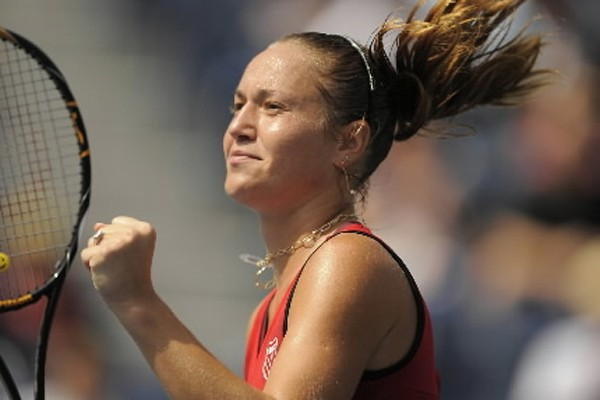 Kateryna  Bondarenko... (Photo: AFP)