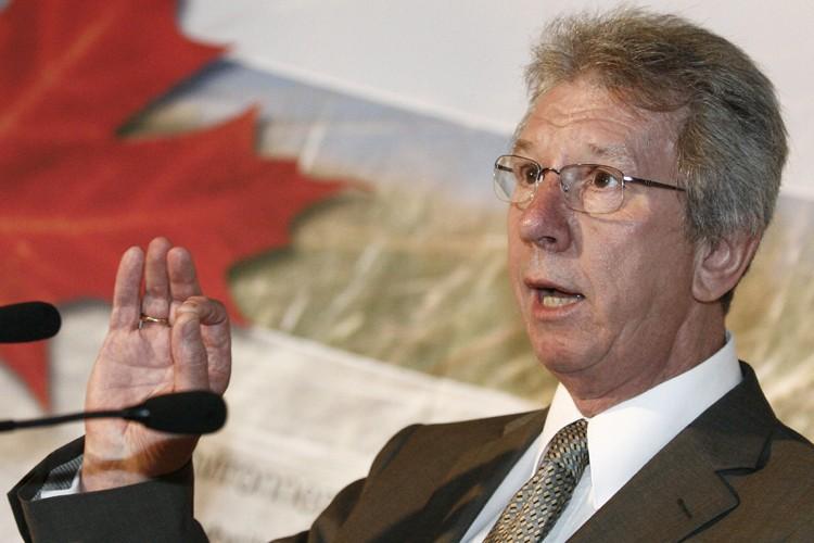 Le ministre fédéral du Revenu, Jean-Pierre Blackburn.... (Photo: Le Soleil)