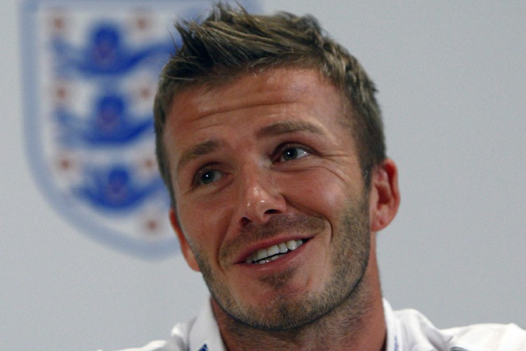 David  Beckham... (Photo: Reuters)