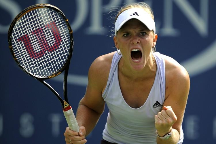 Melanie Oudin est devenue cette année la plus... (Photo: AFP)
