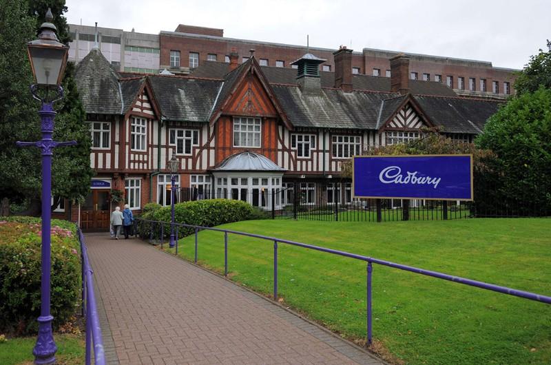 Une fabrique de chocolat de Cadbury à Birmingham... (AFP)