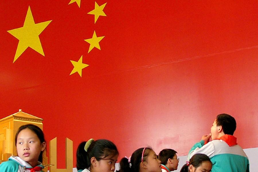 Des écolières chinoises.... (Photo: Archives AP)