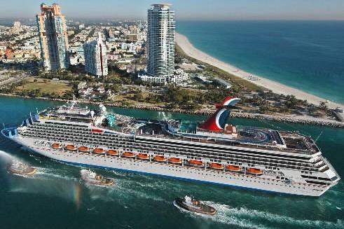 Le Carnival Valor (Carnival Cruise Line)... (Photo: AP)