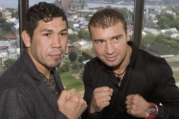 Librado Andrade et Lucian Bute disputeront un combat... (Photo: PC)