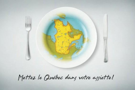 Le logo de la campagne «Mettez le Québec...