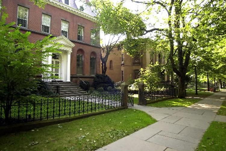 La résidence du recteur de l'université Yale.... (Photo: AP)
