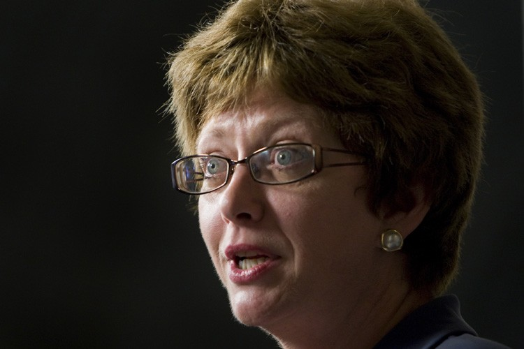 La ministre des Ressources humaines, Diane Finley.... (Photo: PC)