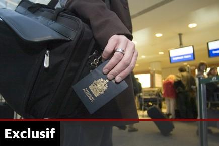 Dès qu'un passeport est signalé perdu ou volé,... (Photo: Martin Chamberland, Archives La Presse)