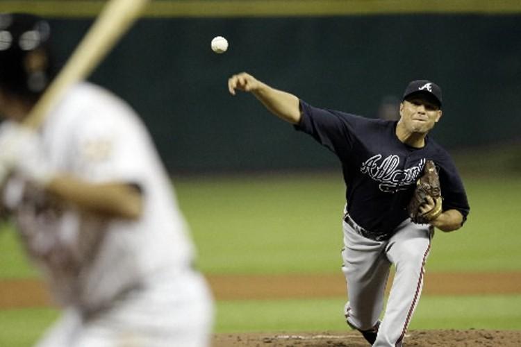 Javier Vazquez sur son monticule.... (Photo: AP)