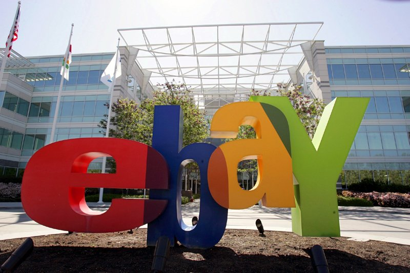 Le groupe de distribution en ligne eBay ( (Photo Paul Samuka, Archives AP)
