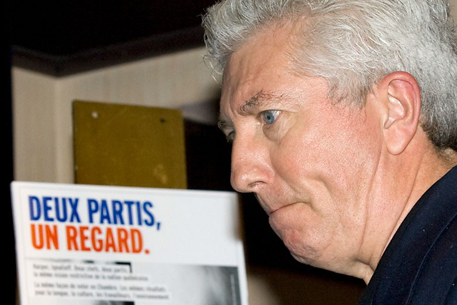 La publicité Deux partis, un regard «ne contient... (Photo: PC)