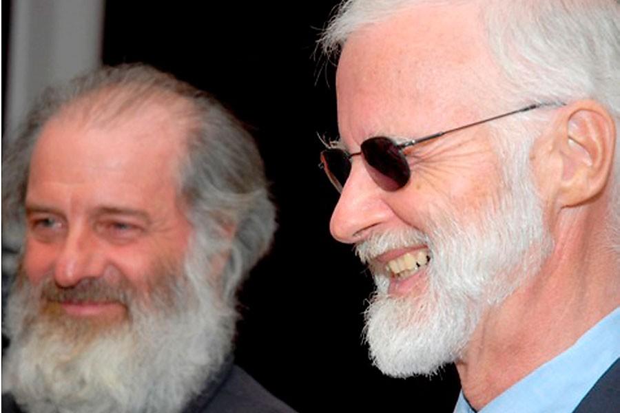 Robert Fowler (à droite), son assistant Louis Guay... (Photo: Archives AFP)