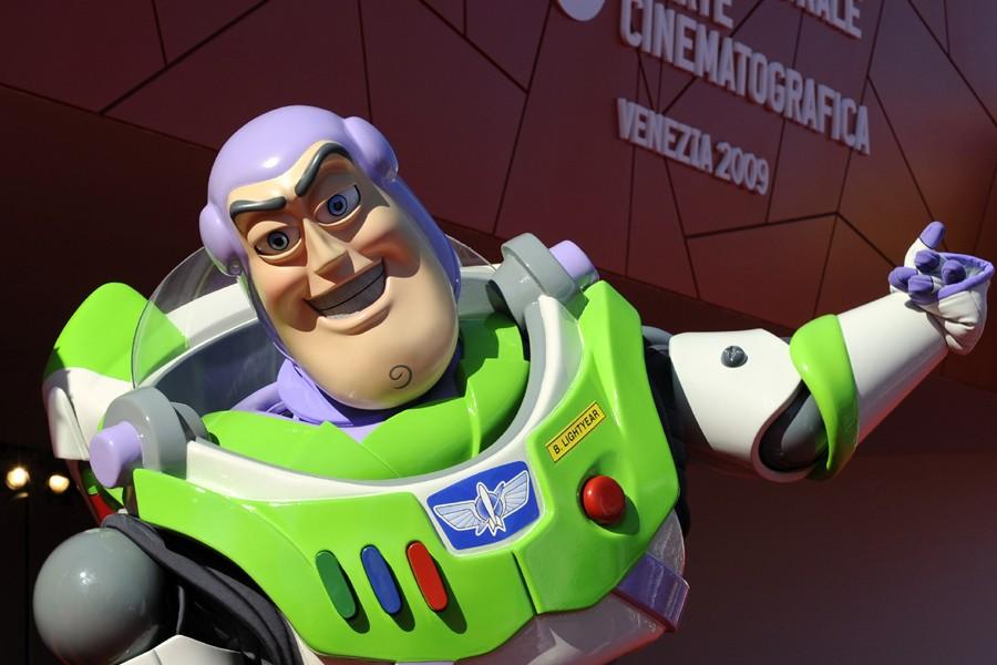 Buzz l'éclair, vedette du film Toy Story.... (Photo: AFP)