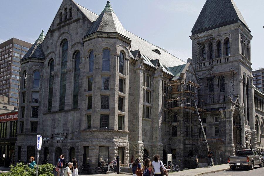 L'université McGill... (Photo: Robert Mailloux, Archives La Presse)
