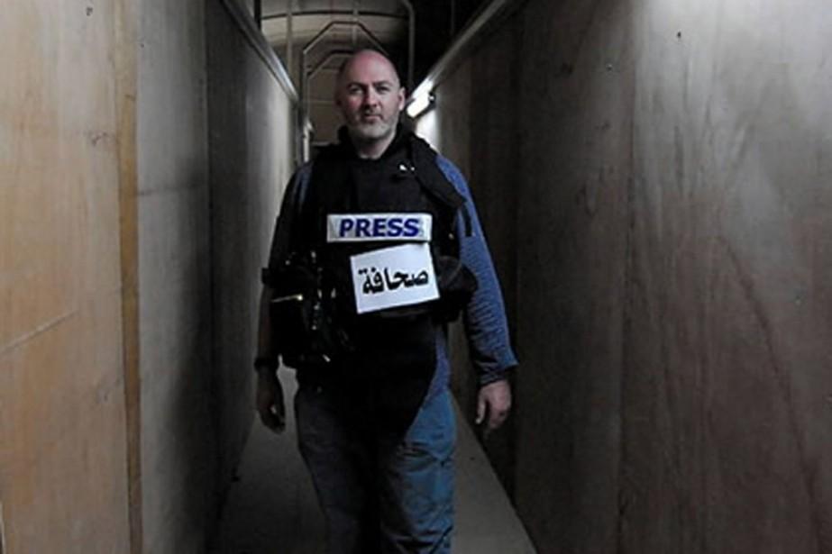 Stephen Farrell a été enlevé alors qu'il enquêtait... (Photo AFP)