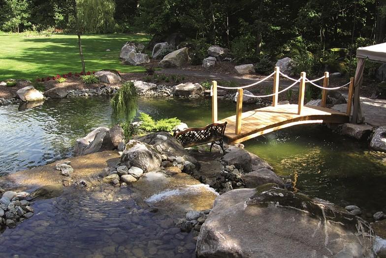 On peut vouloir un jardin d'eau (sur la... (Photo: Les consultants en horticulture)