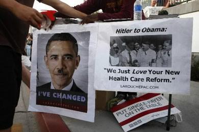 Des opposants au projet de réforme de santé... (Photo Reuters)