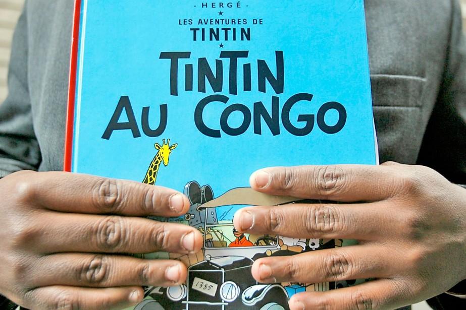 Tintin au Congo... (Photo: AFP)