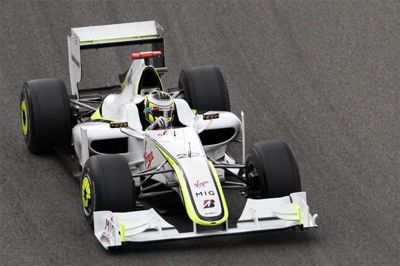 Une F1 de l'écurie Brawn pilotée par le... (Reuters)