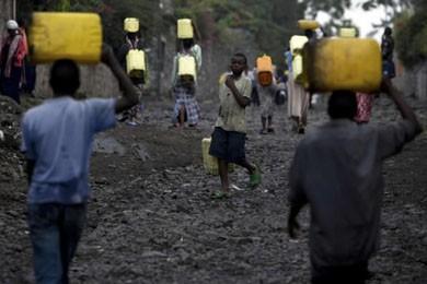 La RDC recèle d'immenses ressources naturelles, dont 34%... (Photo AP)