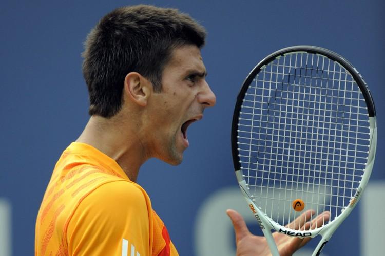 Le Serbe Novak Djokovic, N.4 mondial, s'est qualifié pour les... (Photo: AFP)