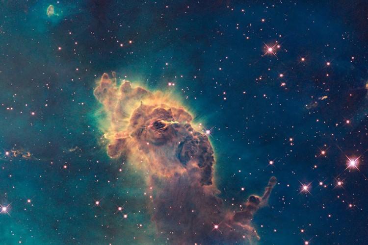 Hubble, le premier télescope spatial, qui a révolutionné... (Photo: AP/NASA)