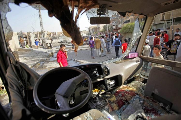 Au moins 17 sept personnes ont été tuées et 25 blessées dans... (Photo: AP)