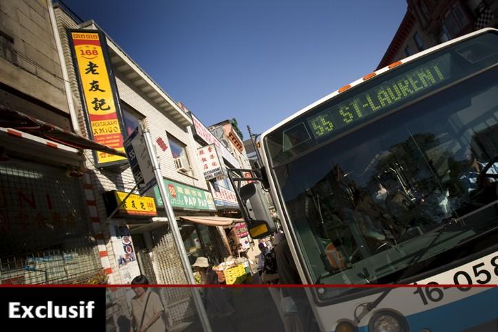 Pour une carte de transports en commun CAM,... (Photo: David Boily, archives La Presse)