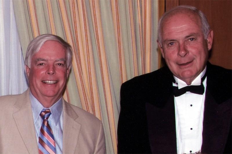 Earl  Jones et  Bevan  Jones,... (Photo fournie par la famille Jones)